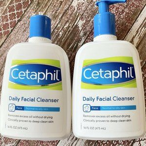 Cetaphil Daily Facial Cleanser Normal to Oily Skin